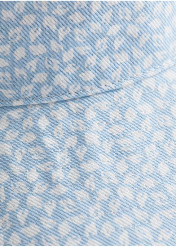 &OS image 4 of 블루 in 코튼 버켓 햇