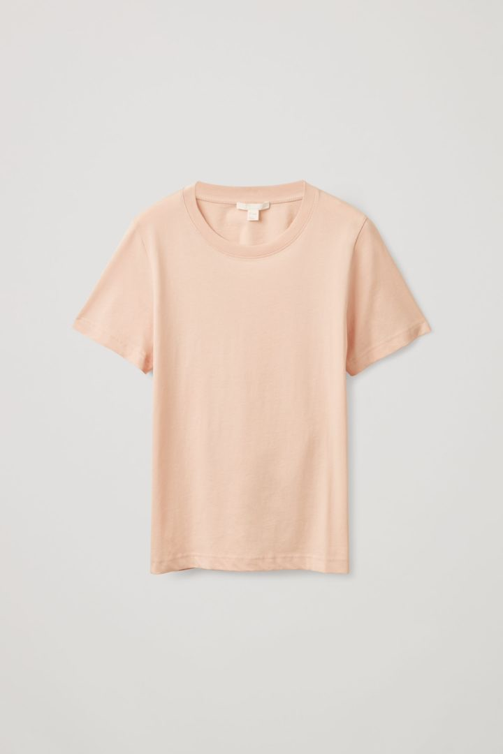 COS default image 5 of 오렌지 in 레귤러 핏 티셔츠
