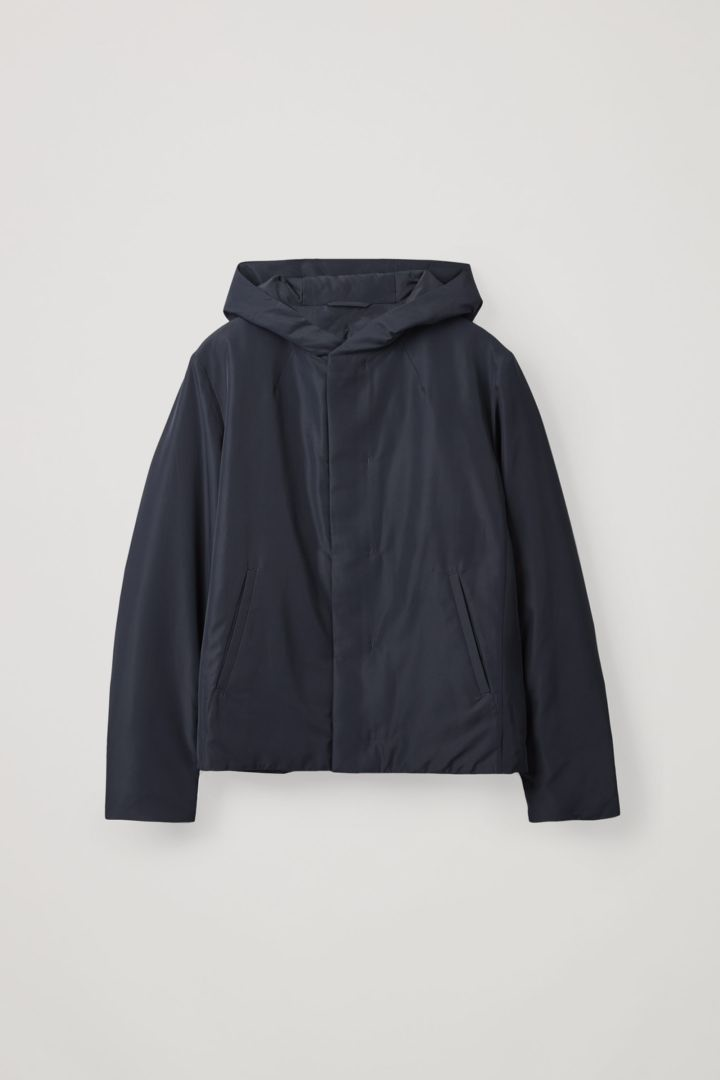 COS hover image 1 of 블루 in 다운 패디드 재킷