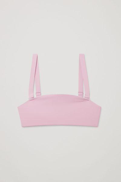 COS default image 9 of 핑크 in 패디드 비키니 탑