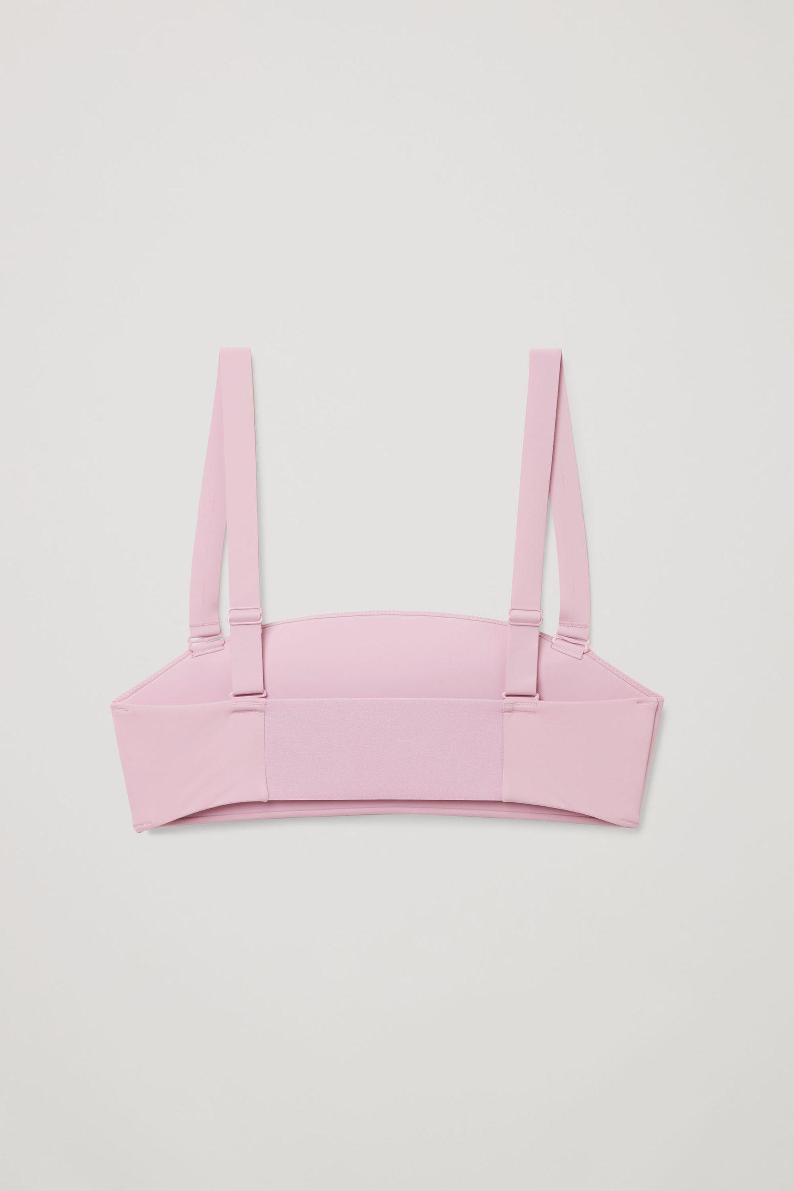 COS 패디드 비키니 탑의 핑크컬러 Product입니다.