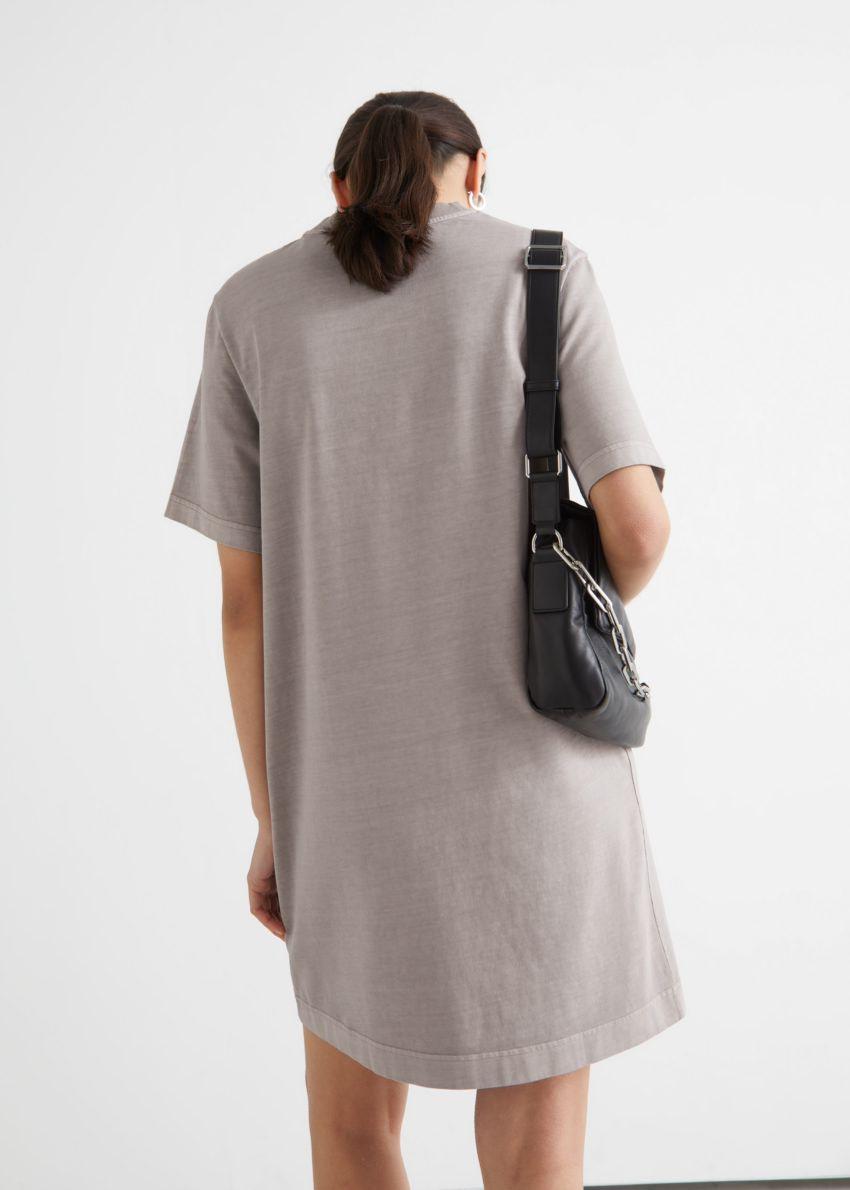 앤아더스토리즈 티셔츠 미니 드레스의 몰컬러 ECOMLook입니다.