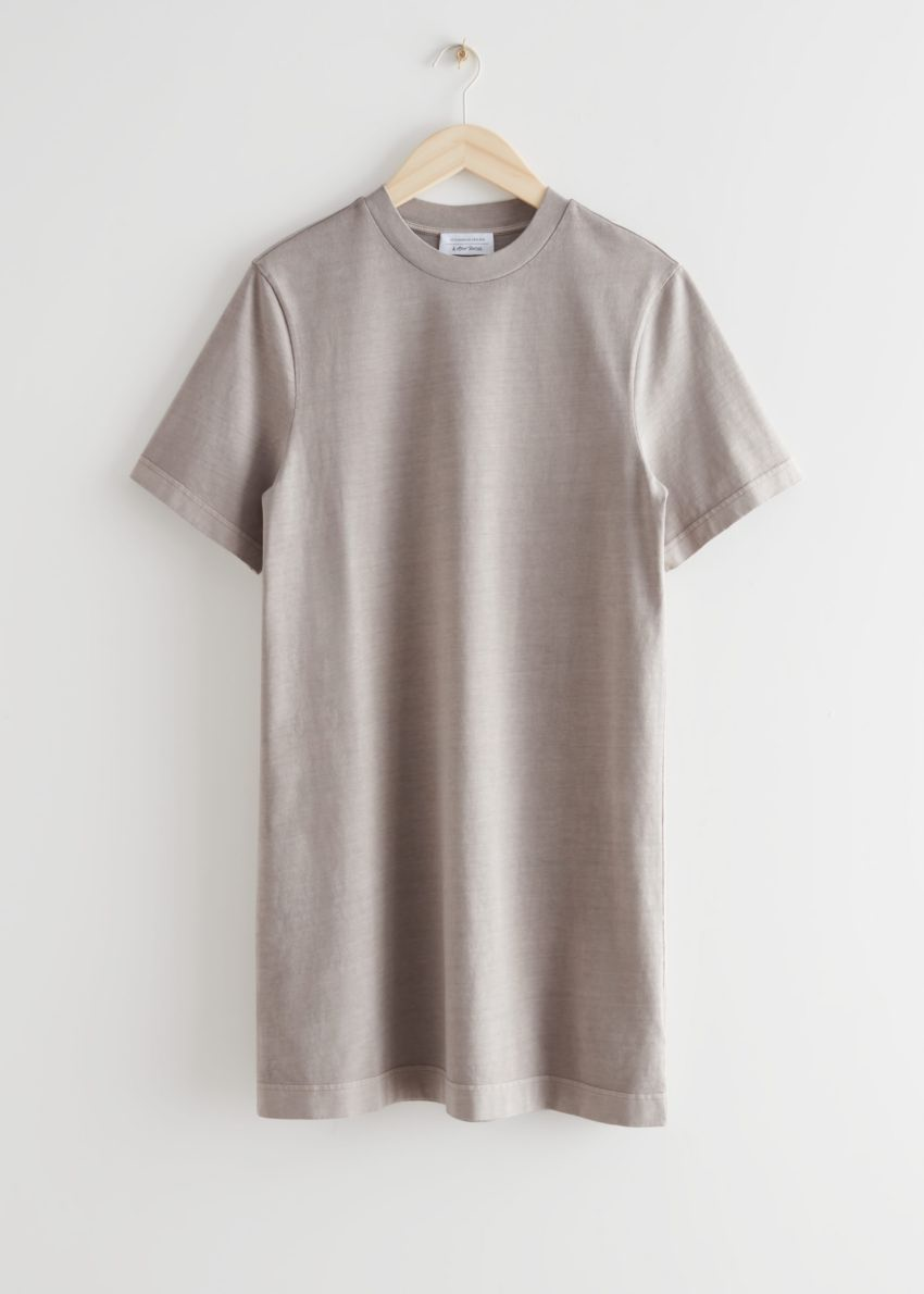 앤아더스토리즈 티셔츠 미니 드레스의 몰컬러 Product입니다.