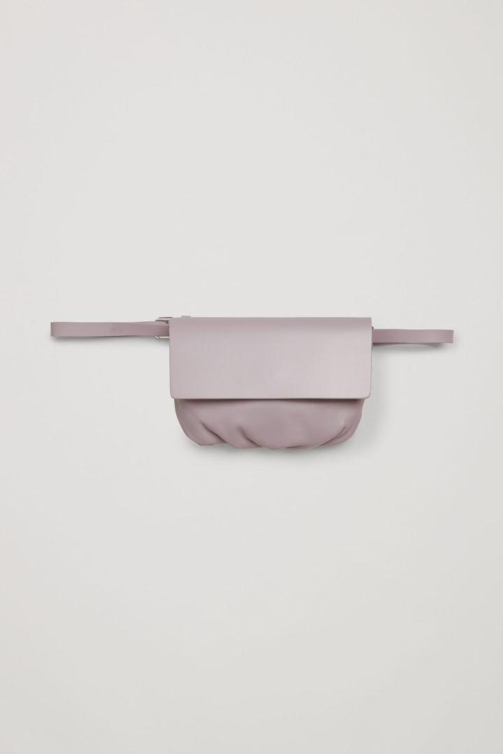 COS default image 8 of 핑크 in 레더 벨트 백