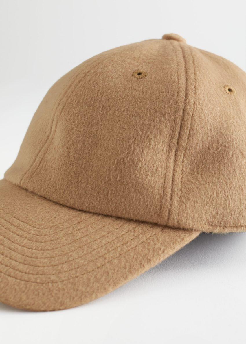 앤아더스토리즈 울 멜란지 베이스볼 캡의 베이지컬러 Product입니다.