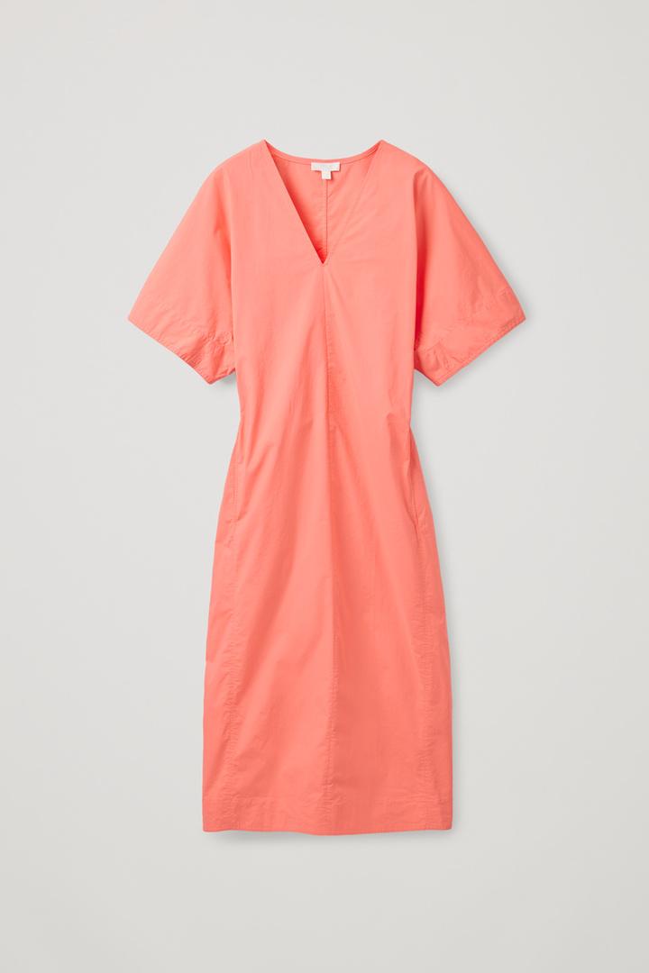 COS hover image 1 of 오렌지 in 벨티드 카프탄 드레스