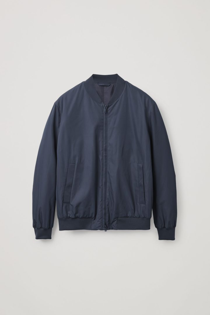 COS hover image 1 of 블루 in 보머 재킷
