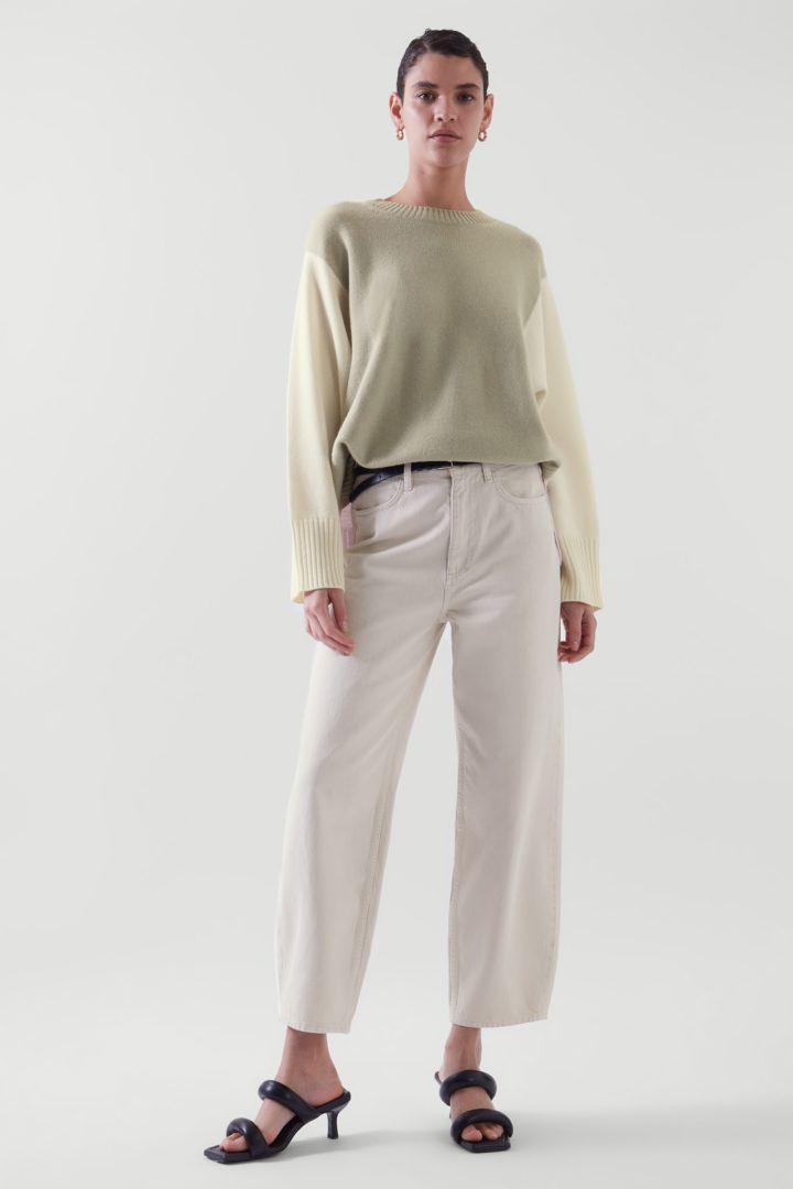COS default image 1 of  in 컬러 블록 캐시미어 스웨터