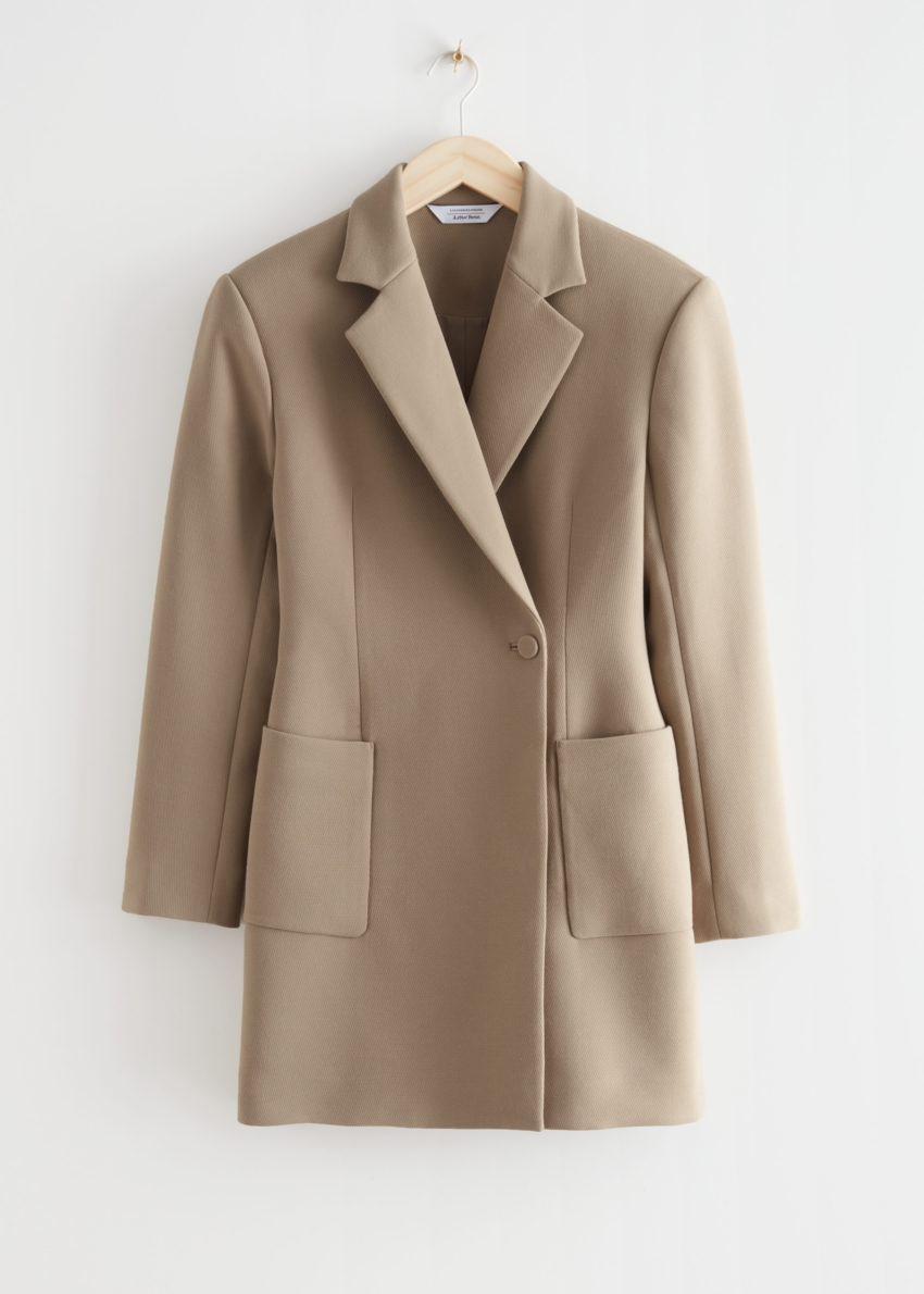 앤아더스토리즈 아우어글래스 블레이저 미니 드레스의 몰컬러 Product입니다.
