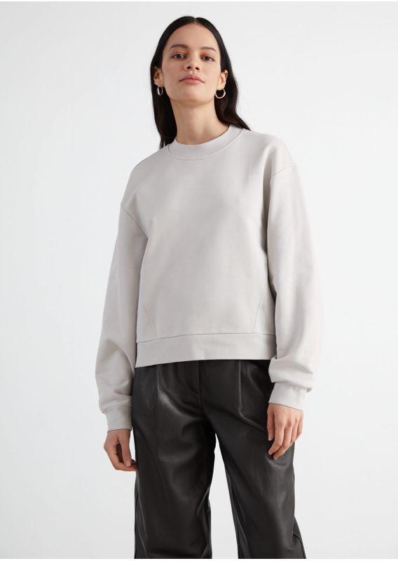 &OS image 22 of  in 릴렉스드 바나나 슬리브 스웨터