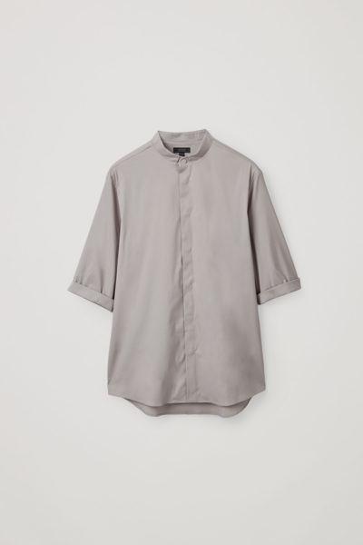 COS default image 8 of  in 7부 소매 그랜대드 셔츠