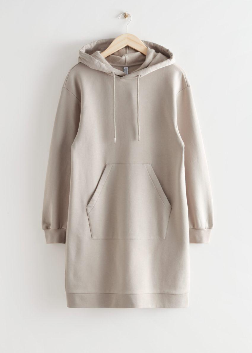 앤아더스토리즈 릴렉스드 드로스트링 후디 미니 드레스의 몰컬러 Product입니다.