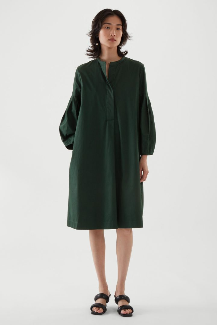 COS default image 7 of  in 플리티드 셔츠 드레스