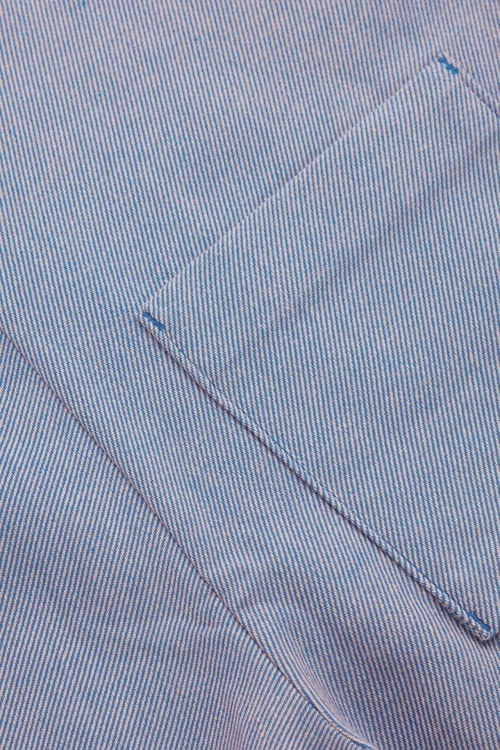 COS 코튼 덩거리의 라이트 블루컬러 Detail입니다.