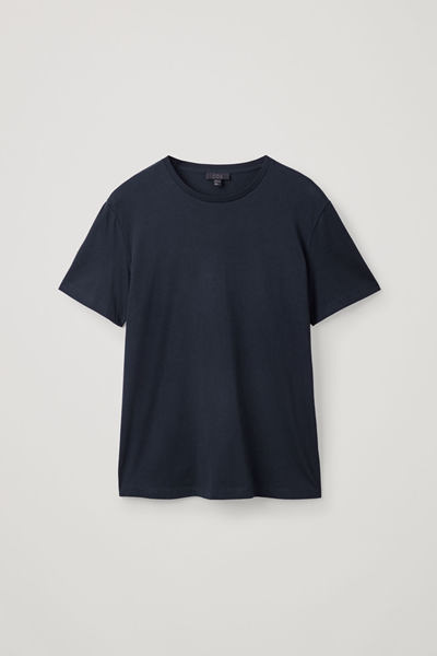 COS default image 9 of 블루 in 레귤러 핏 티셔츠