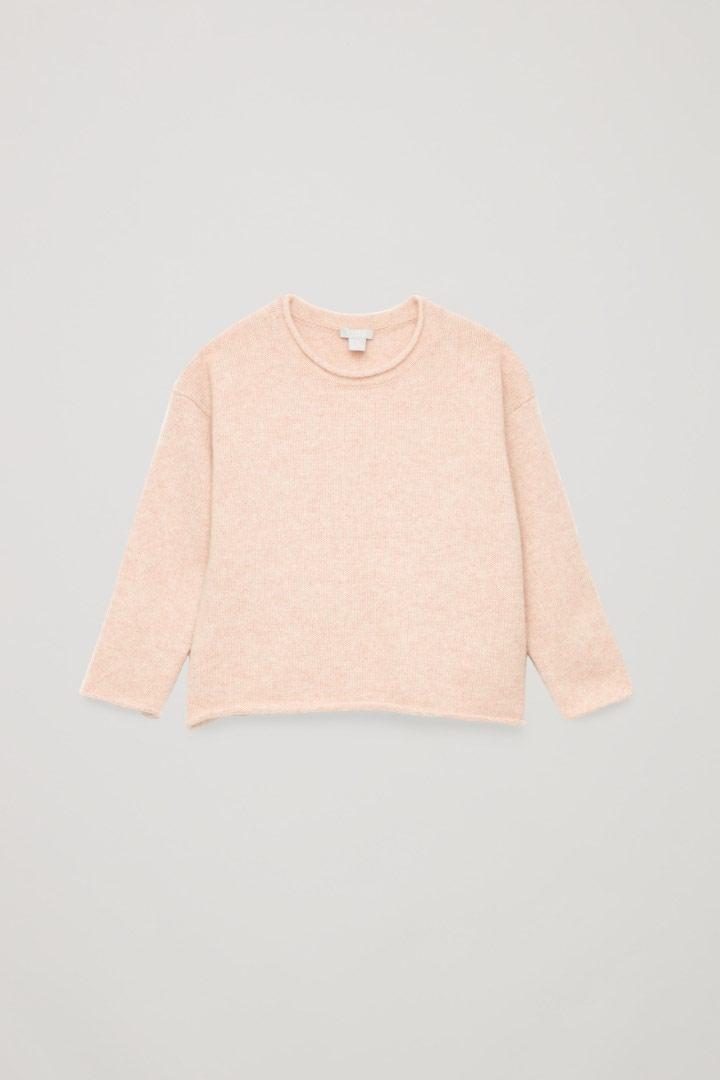 COS default image 5 of 핑크 in 캐시미어 니티드 스웨터