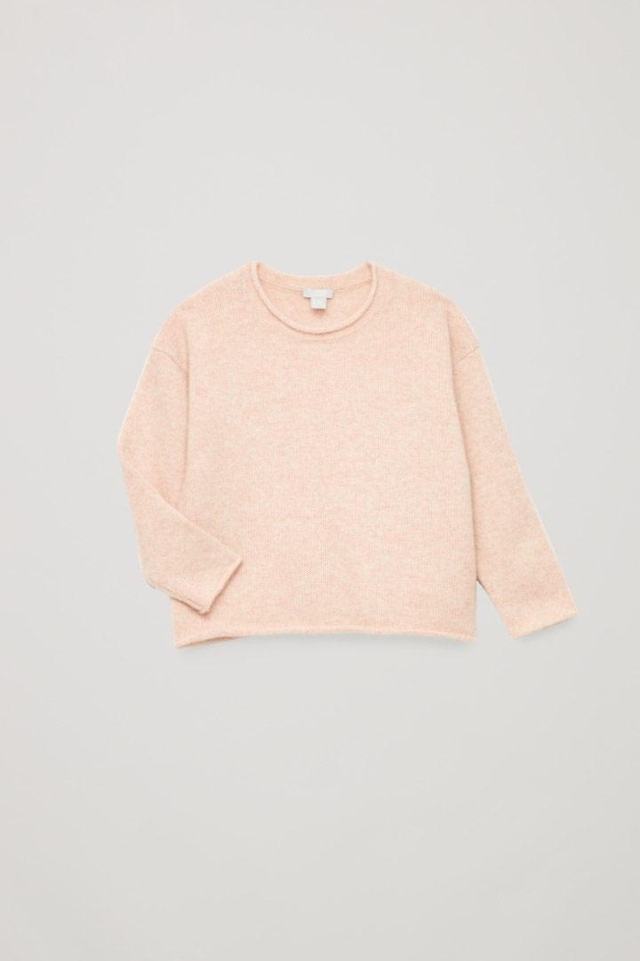COS hover image 5 of 핑크 in 캐시미어 니티드 스웨터