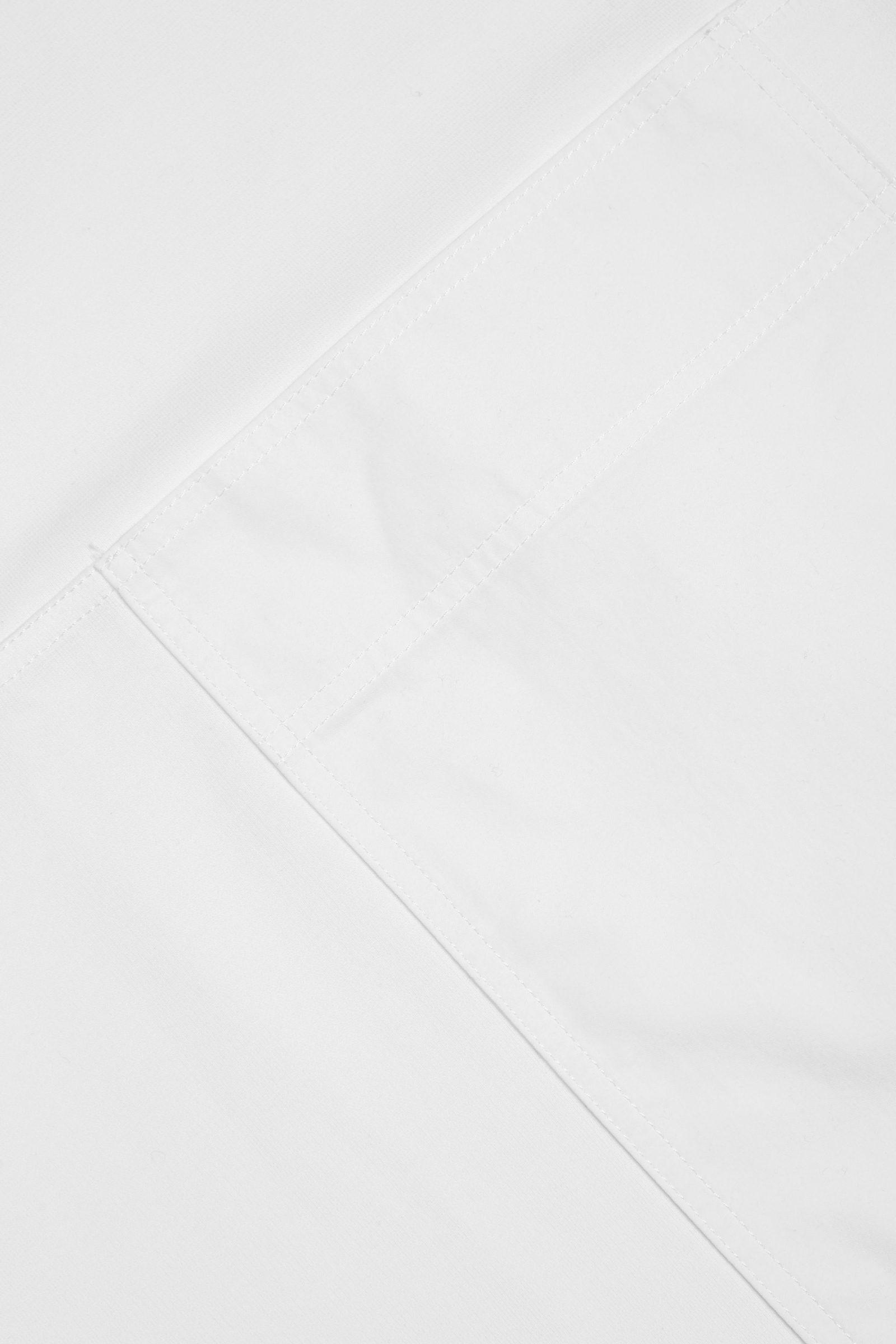 COS 포켓 디테일 코튼 드레스의 화이트컬러 Detail입니다.