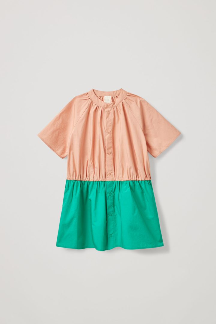 COS default image 12 of 오렌지 in 칼라리스 셔츠 드레스