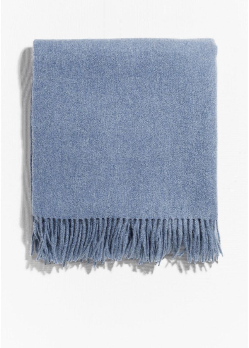 앤아더스토리즈 오버사이즈 울 스카프의 블루컬러 Product입니다.