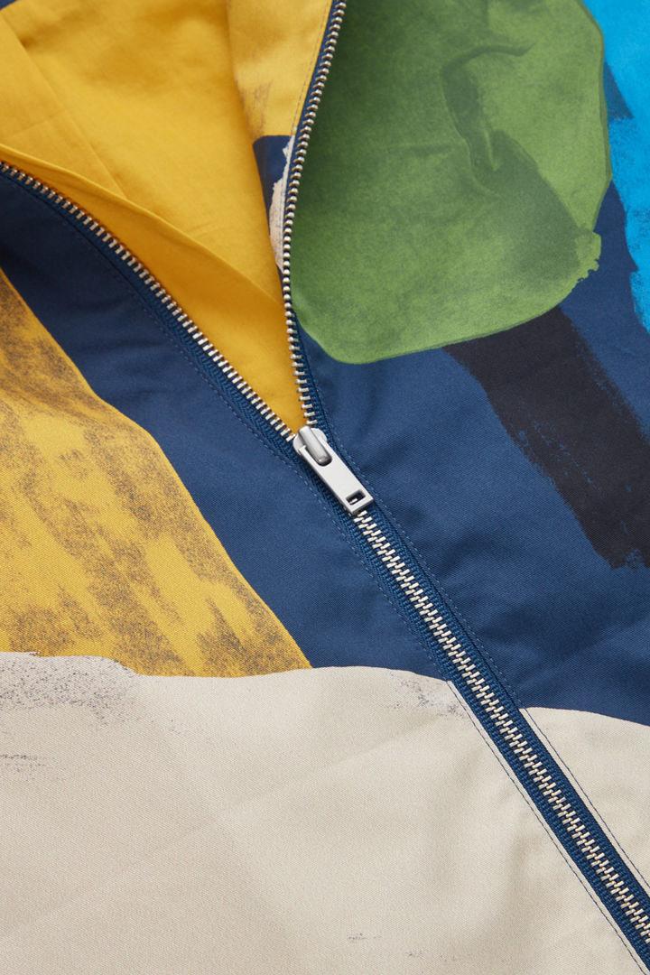 COS 디태처블 후드 프린티드 재킷의 멀티컬러컬러 Detail입니다.