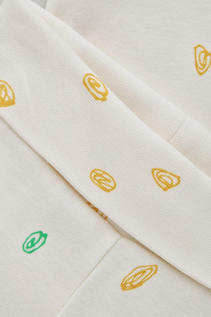 COS 프린티드 오가닉 코튼 레깅스의 크림 / 옐로우 / 그린컬러 Product입니다.