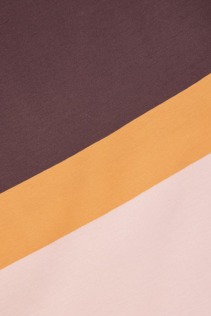 COS 코튼 티셔츠 드레스의 멀티컬러컬러 Detail입니다.
