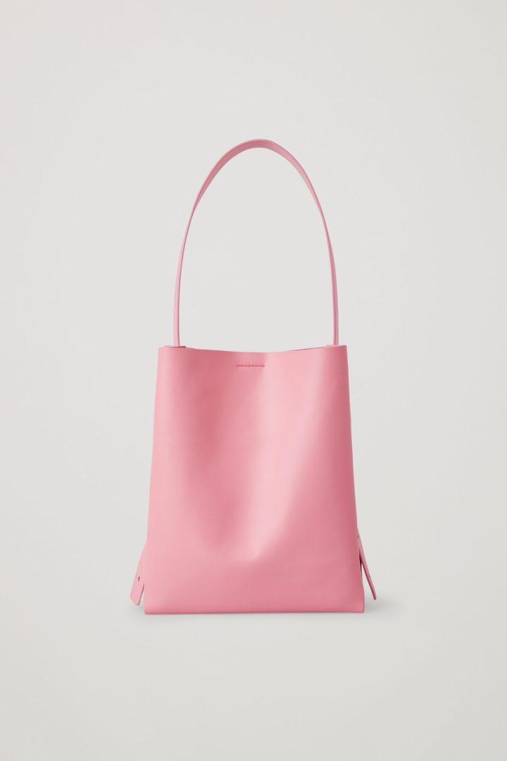 COS default image 3 of 핑크 in 레더 미니백