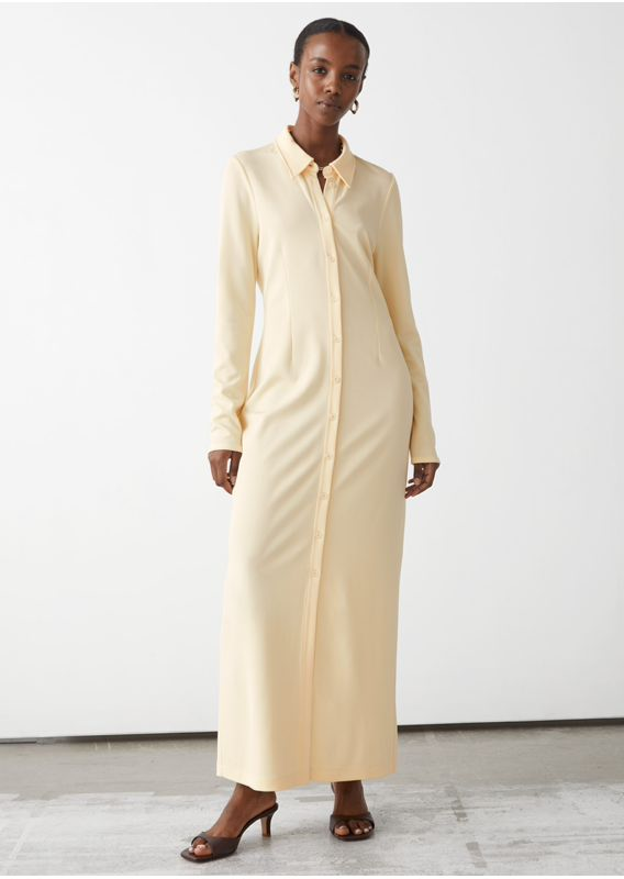 &OS image 11 of  in 카라 맥시 셔츠 드레스