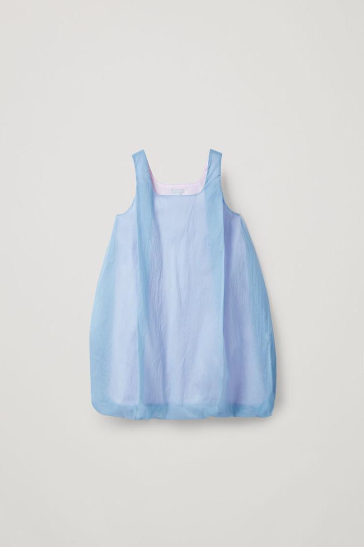 COS default image 9 of 블루 in 라이트웨이트 더블 레이어 드레스