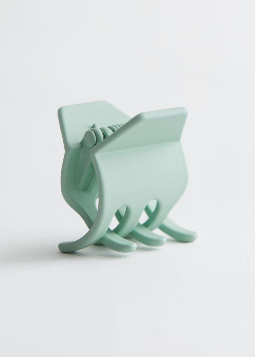 앤아더스토리즈 글로시 미니 헤어 그립의 민트 그린컬러 Product입니다.