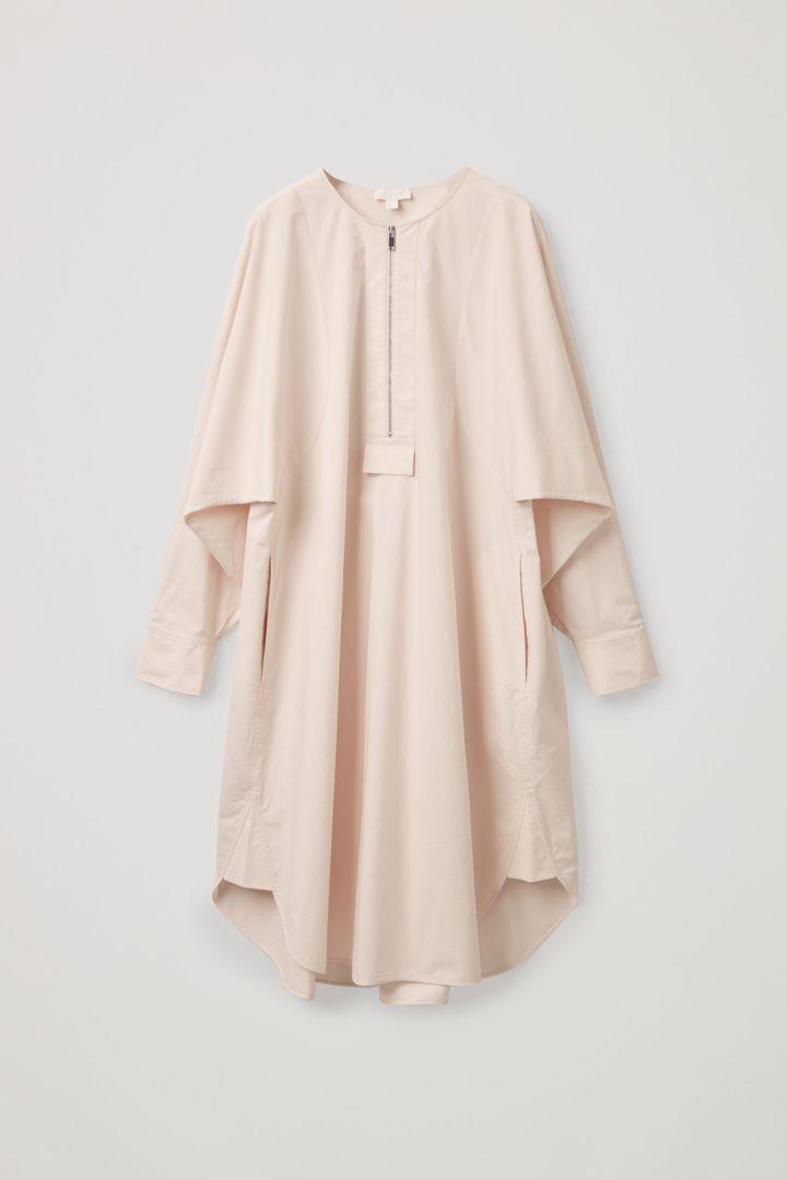 COS hover image 12 of 화이트 in 오버사이즈 에이라인 셔츠 드레스