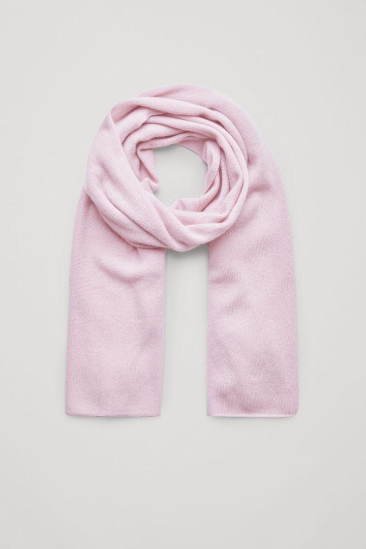 COS 유니섹스 니티드 캐시미어의 핑크컬러 Product입니다.