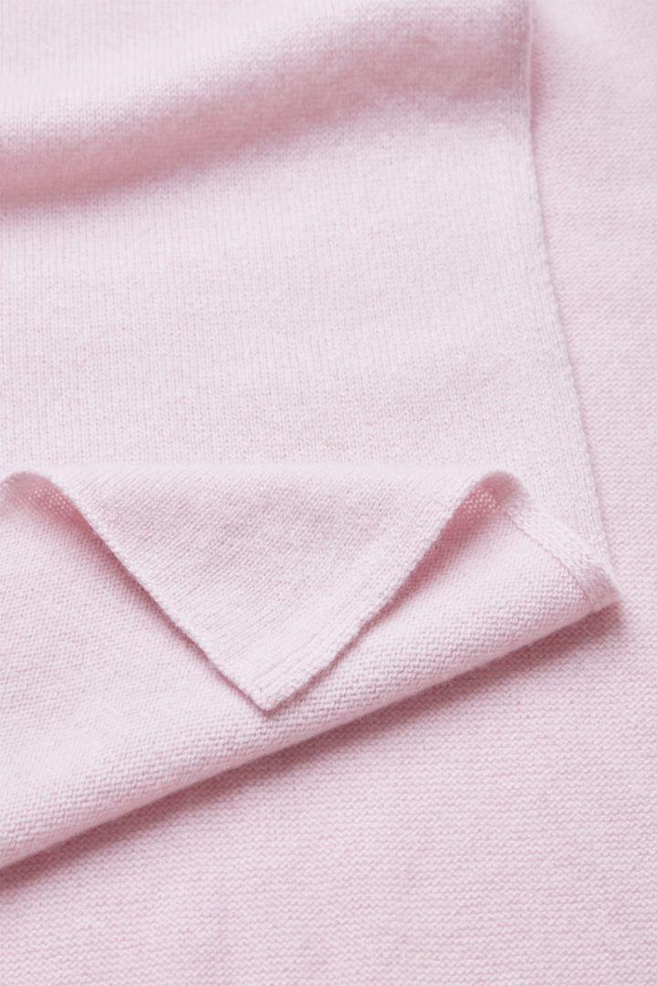 COS 유니섹스 니티드 캐시미어의 핑크컬러 Detail입니다.