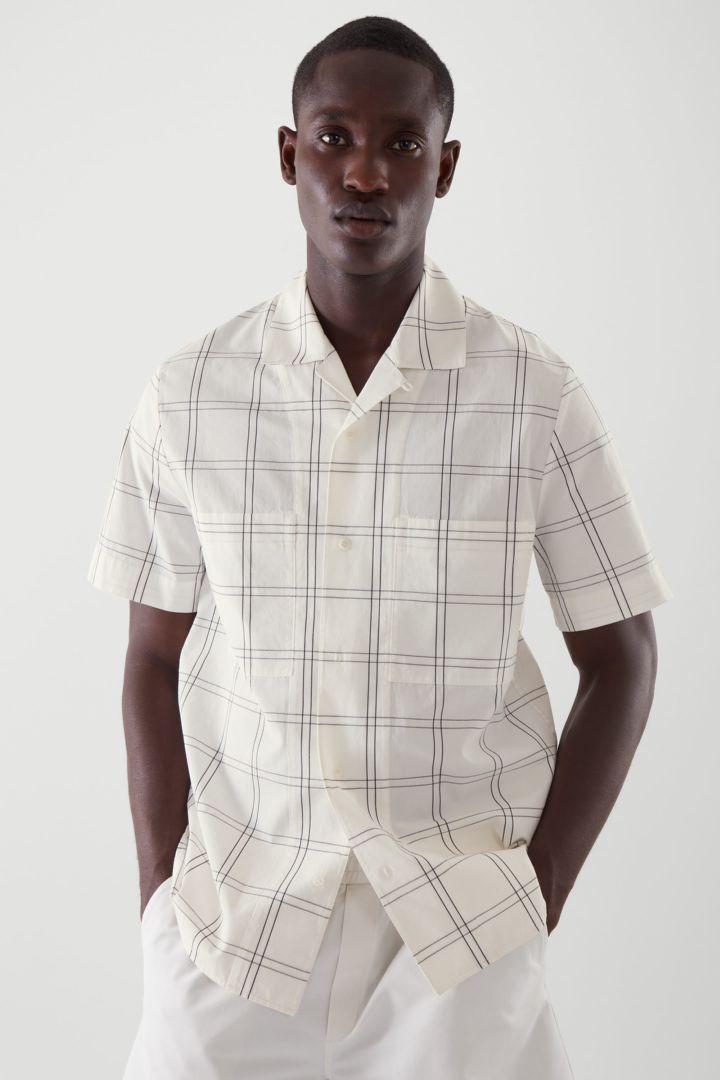COS default image 4 of  in 캠프 칼라 포플린 셔츠