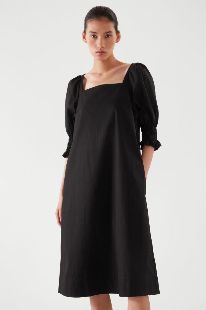 COS default image 3 of  in 스퀘어 넥 스모킹 드레스