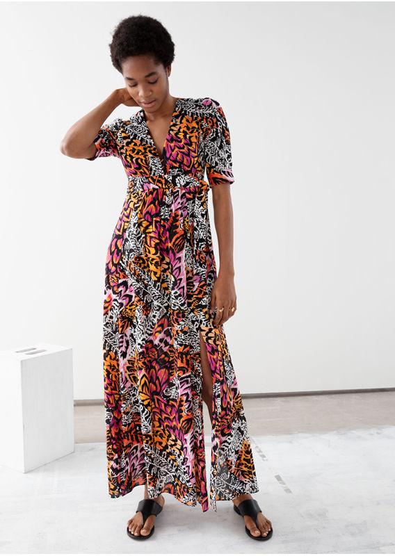&OS image 13 of  in 플로럴 프린트 드레스