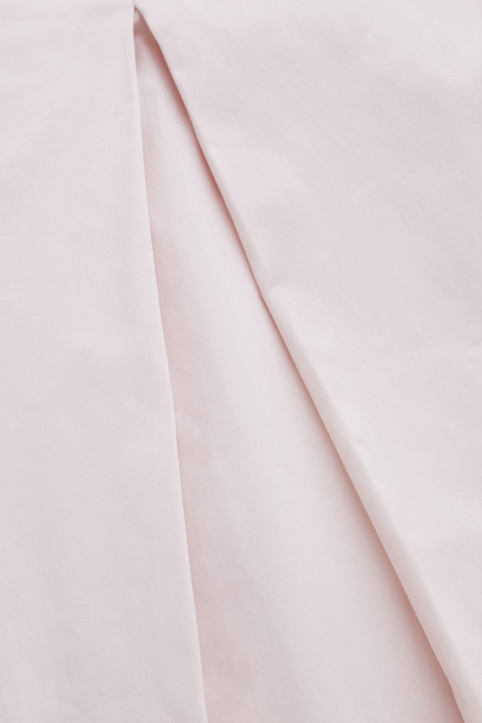 COS 박스 플리츠 A라인 드레스의 핑크컬러 Detail입니다.