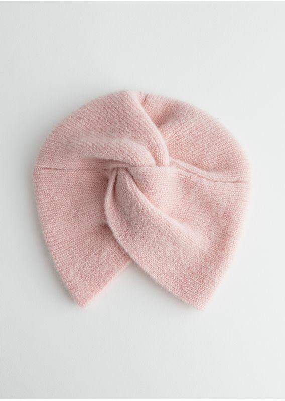 &OS image 15 of 핑크 in 트위스트 비니
