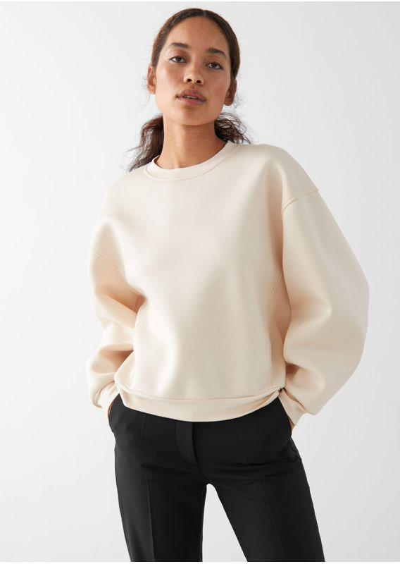 &OS image 14 of  in 바나나 슬리브 스웨터