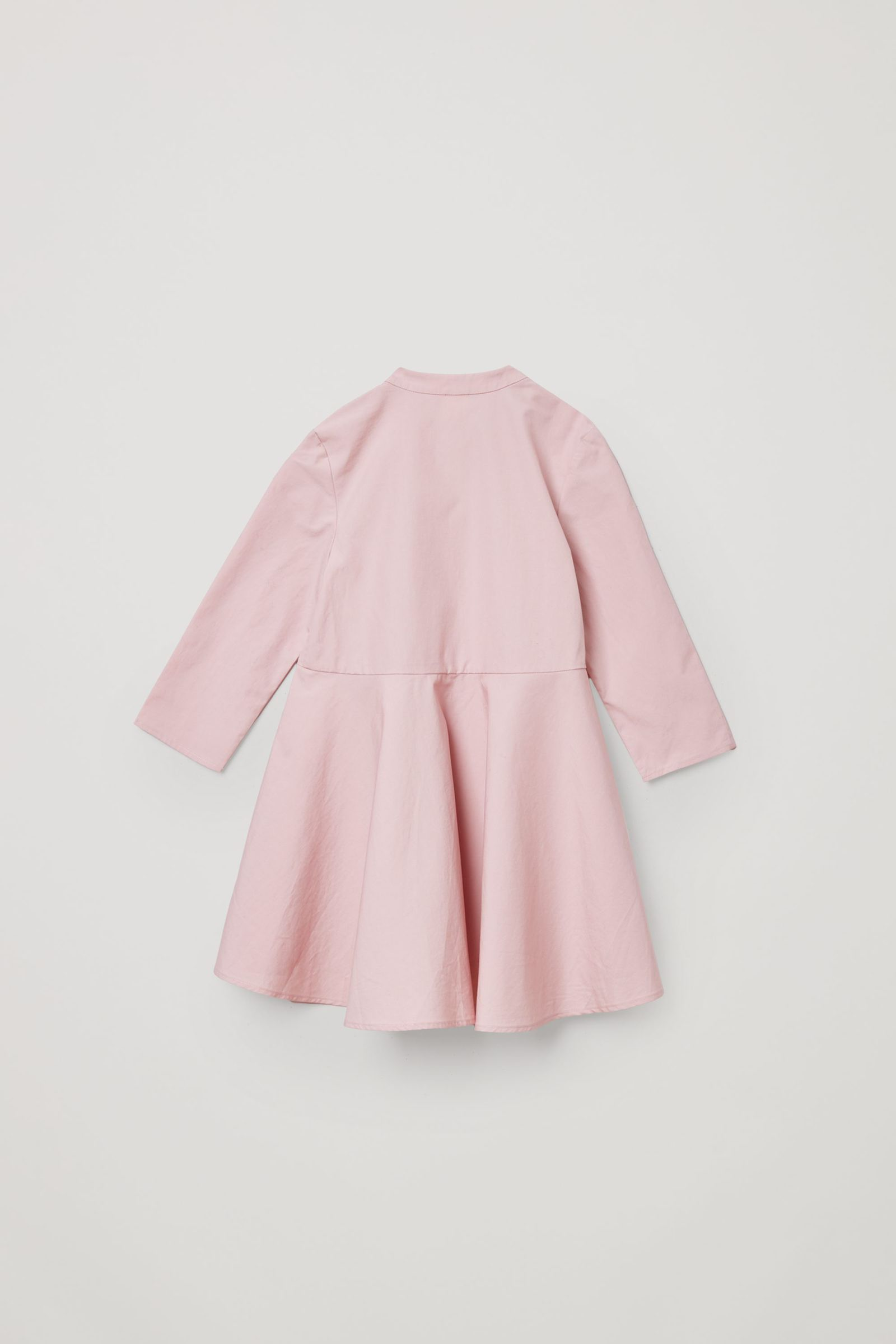 COS 포켓 코튼 드레스의 핑크컬러 Product입니다.