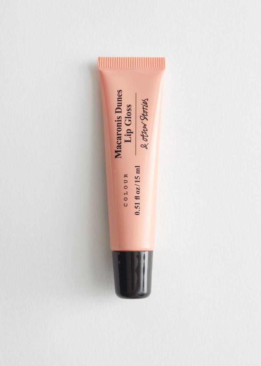 앤아더스토리즈 애스콧 다이앤디스 립글로스 의 마카로니 듄스컬러 Product입니다.