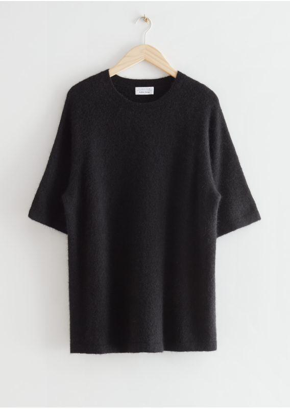 &OS image 30 of  in 박시 알파카 니트 티셔츠