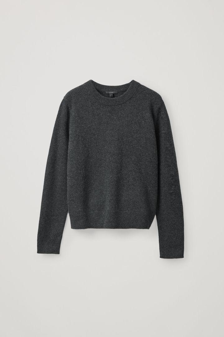 COS default image 3 of 그레이 in 니티드 캐시미어 스웨터
