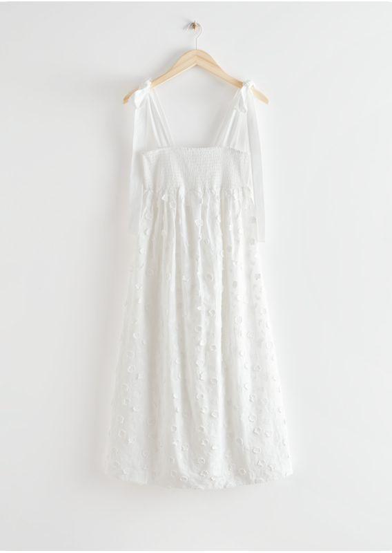 &OS image 2 of  in 플로럴 엠브로이더리 드레스