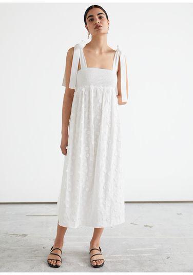 &OS image PRA default 4 of  in 플로럴 엠브로이더리 드레스