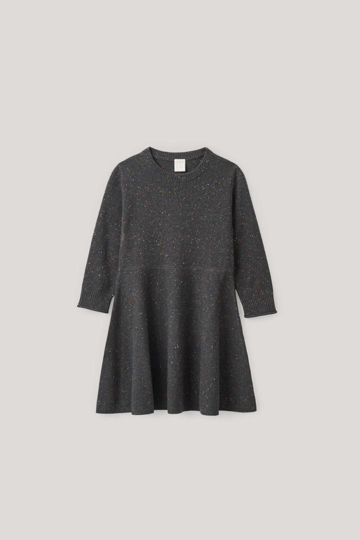 COS default image 4 of 그레이 in 스페클드 메리노 드레스