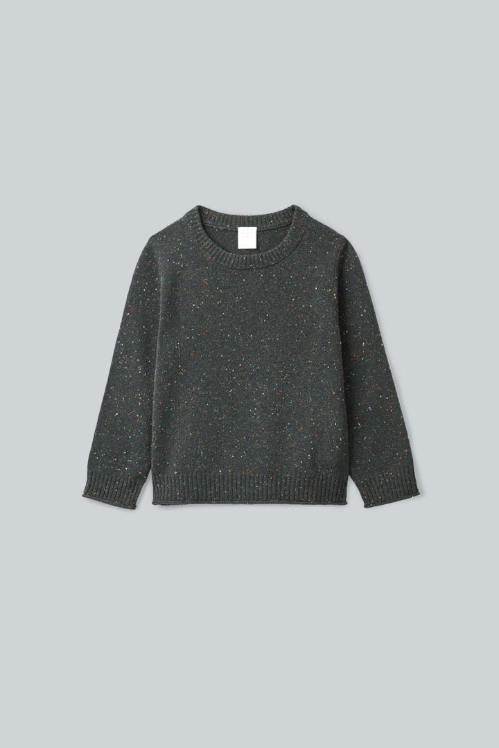 COS default image 3 of 그레이 in 스페클드 메리노 스웨터