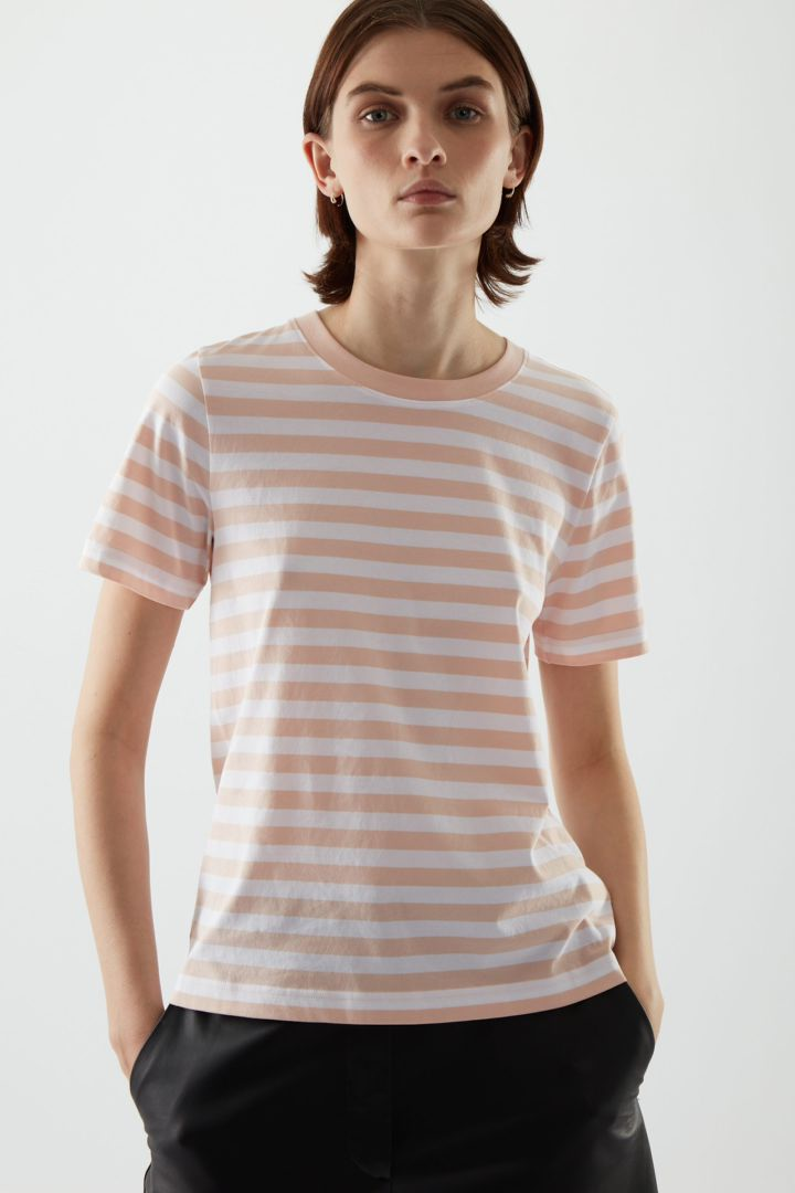 COS default image 6 of 오렌지 in 코튼 저지 티셔츠