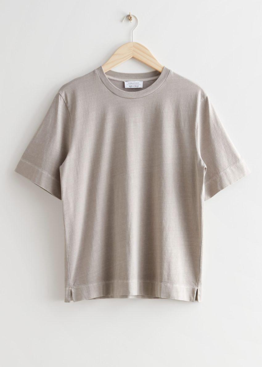 앤아더스토리즈 릴렉스드 크루넥 티셔츠의 몰컬러 Product입니다.
